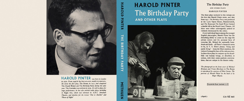 Birthday Party and Other Plays, The. Harold Pinter