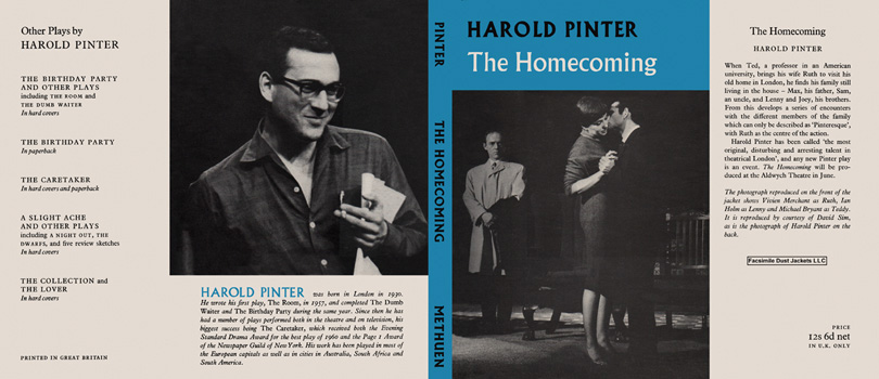 Homecoming, The. Harold Pinter