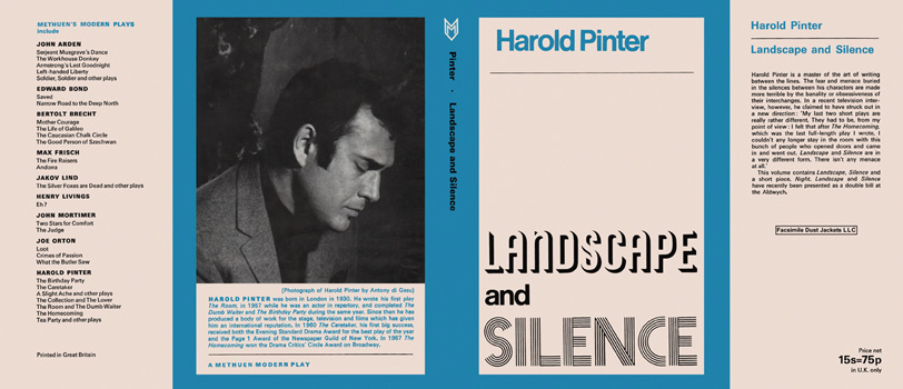 Landscape and Silence. Harold Pinter