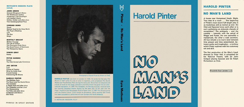 No Man's Land. Harold Pinter