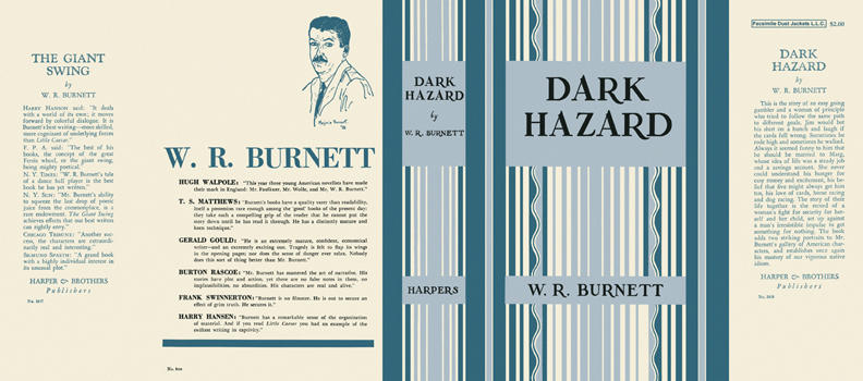 Dark Hazard. W. R. Burnett.