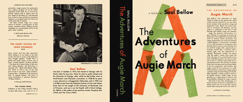 Adventures of Augie March, The. Saul Bellow