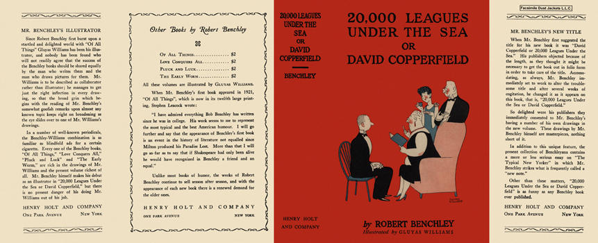 20,000 Leagues Under the Sea or David Copperfield. Robert Benchley, Gluyas Williams.