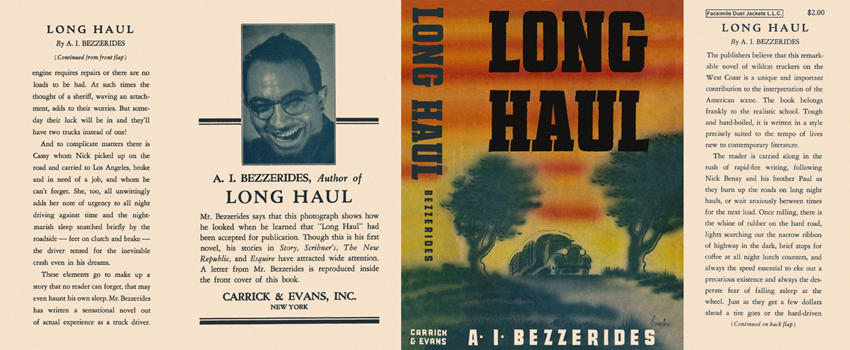 Long Haul. A. I. Bezzerides