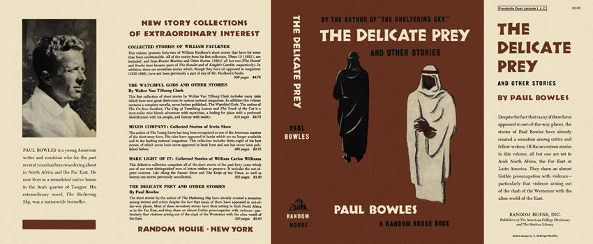 Delicate Prey and Other Stories, The. Paul Bowles.