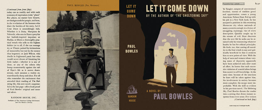 Let It Come Down. Paul Bowles.