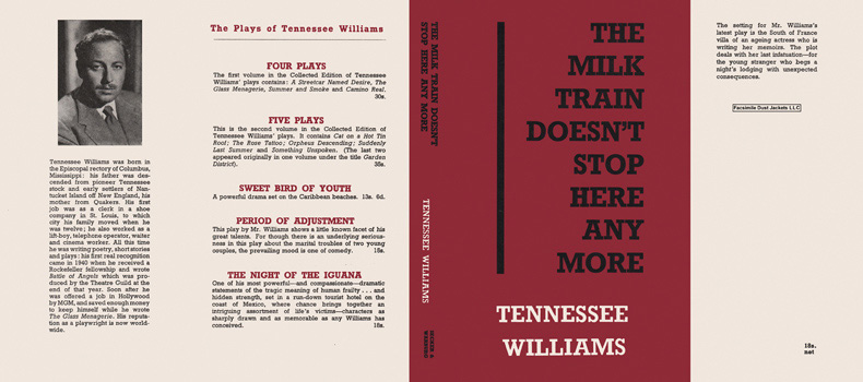 Milk Train Doesn't Stop Here Any More, The. Tennessee Williams