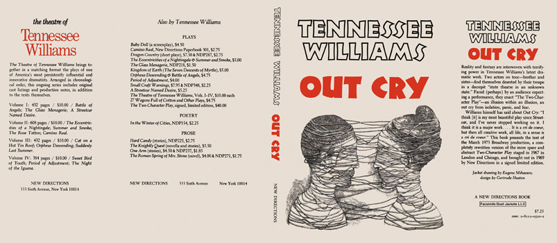 Out Cry. Tennessee Williams