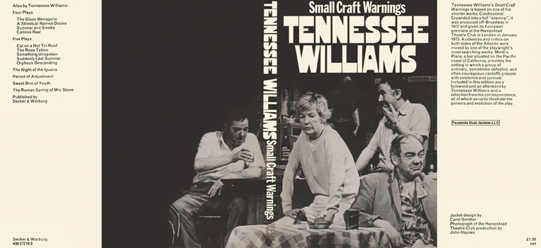 Small Craft Warnings. Tennessee Williams