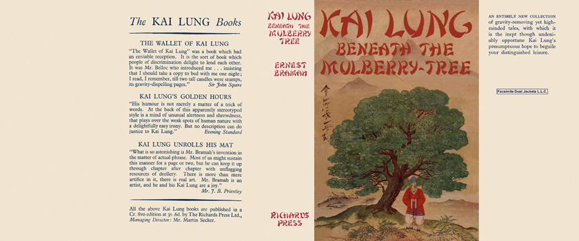 Kai Lung Beneath the Mulberry Tree. Ernest Bramah