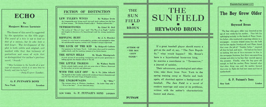 Sun Field, The. Heywood Broun