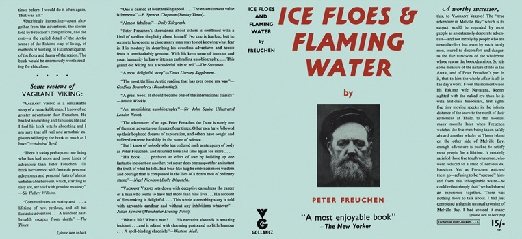 Ice Floes and Flaming Water. Peter Freuchen.