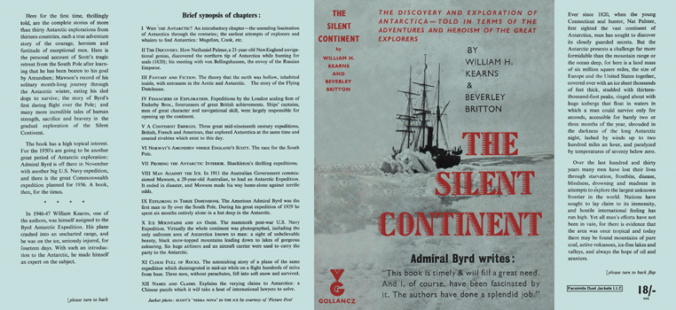 Silent Continent, The. William H. Kearns, Beverly Britton