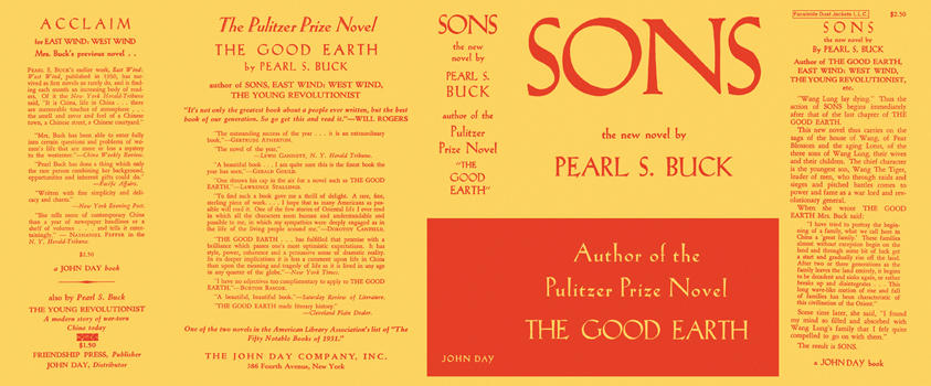 Sons. Pearl S. Buck