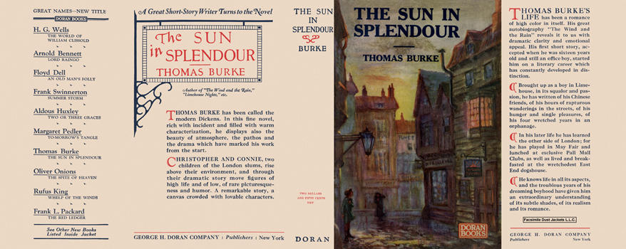 Sun in Splendour, The. Thomas Burke.
