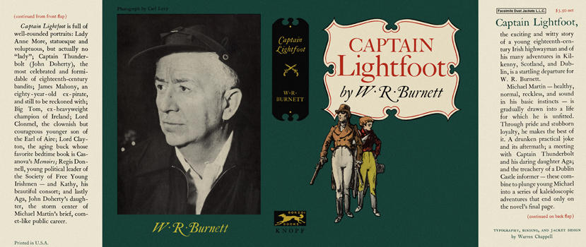 Captain Lightfoot. W. R. Burnett.
