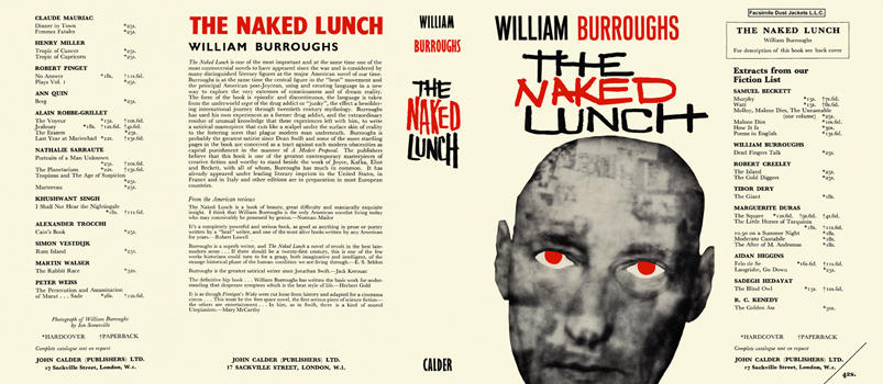 Naked Lunch, The. William Burroughs.
