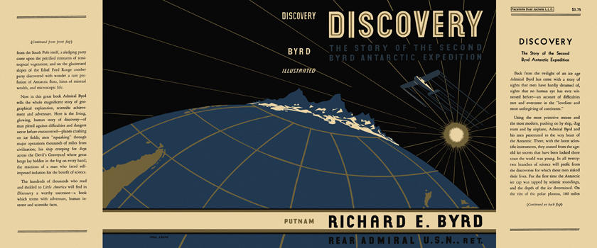 Discovery. Richard Evelyn Byrd.