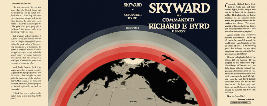 Skyward. Richard Evelyn Byrd.