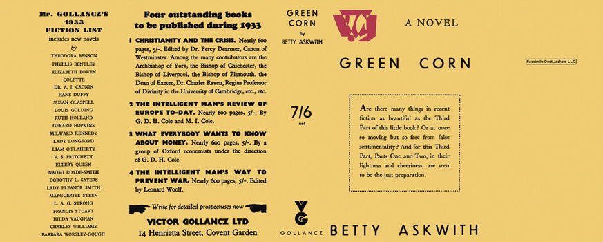 Green Corn. Betty Askwith