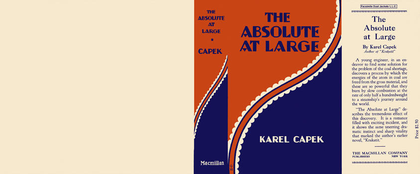 Absolute at Large, The. Karel Capek