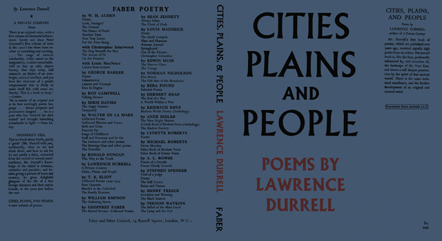 Cities, Plains, and People. Lawrence Durrell