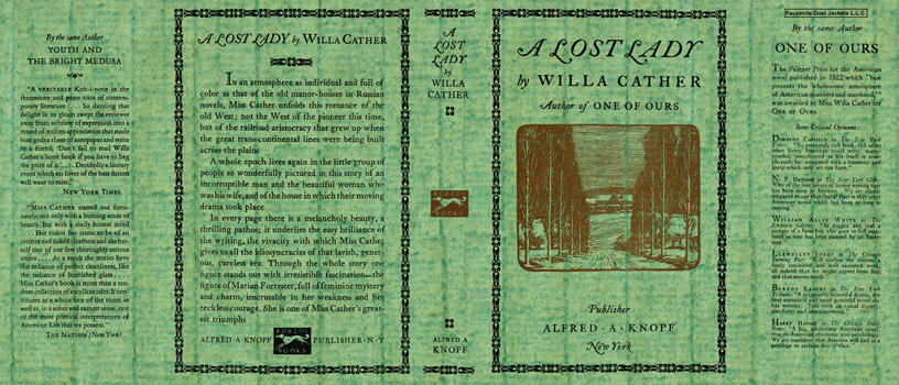 Lost Lady, A. Willa Cather