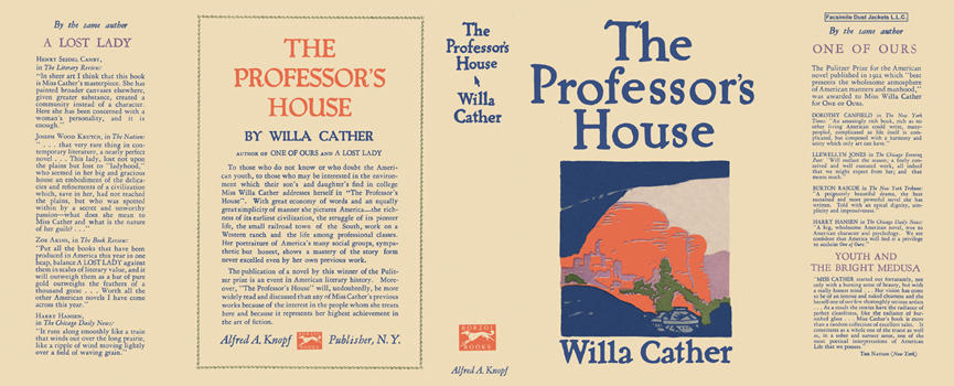 Professor's House, The. Willa Cather.