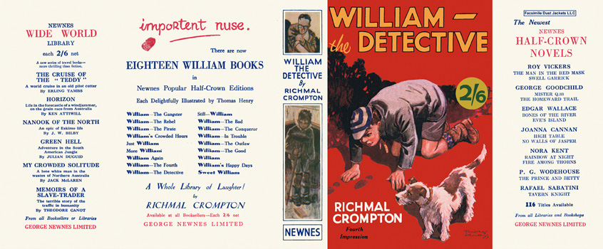 William the Detective. Richmal Crompton.