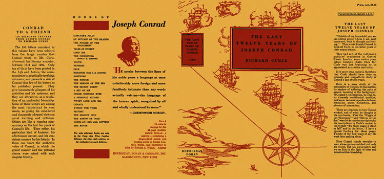 Last Twelve Years of Joseph Conrad, The. Richard Curle
