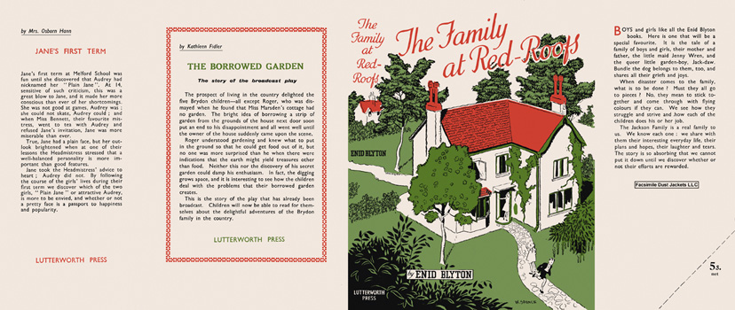 Family at Red-Roof, The. Enid Blyton, W. Spence