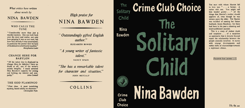Solitary Child, The. Nina Bawden.