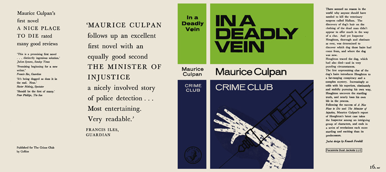 In a Deadly Vein. Maurice Culpan