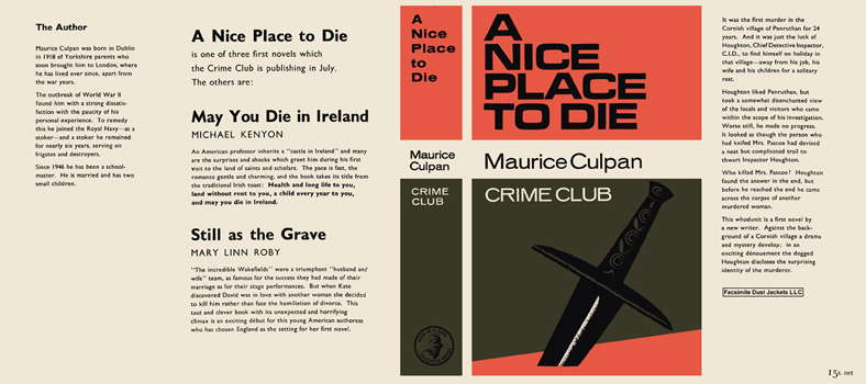 Nice Place to Die, A. Maurice Culpan