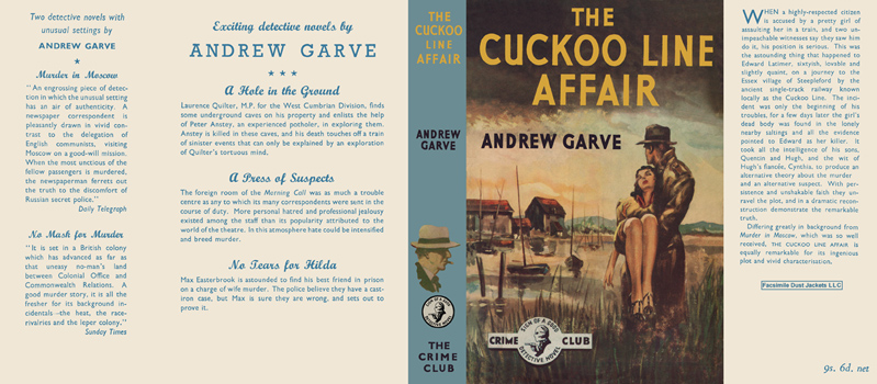 Cuckoo Line Affair, The. Andrew Garve