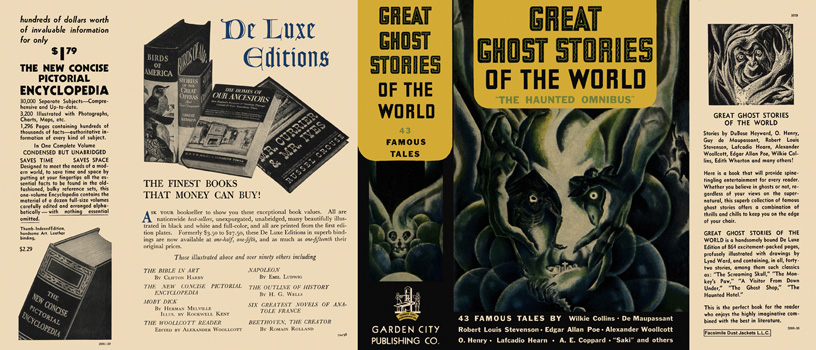 Great Ghost Stories of the World, The Haunted Omnibus. Anthology