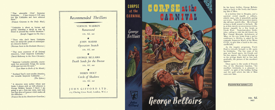 Corpse at the Carnival. George Bellairs.