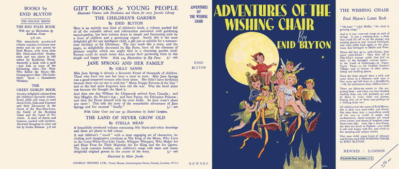 Adventures of the Wishing Chair. Enid Blyton, Hilda McGavin