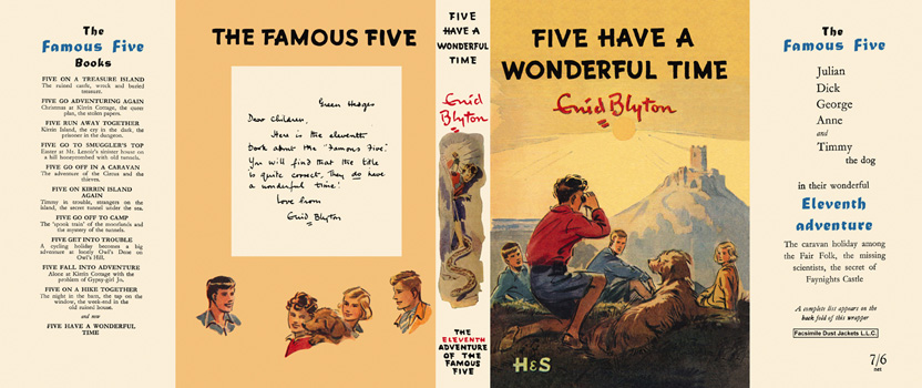 Five Have a Wonderful Time. Enid Blyton, Eileen Soper