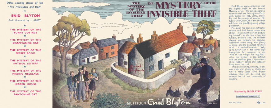 Mystery of the Invisible Thief, The. Enid Blyton, Treyer Evans