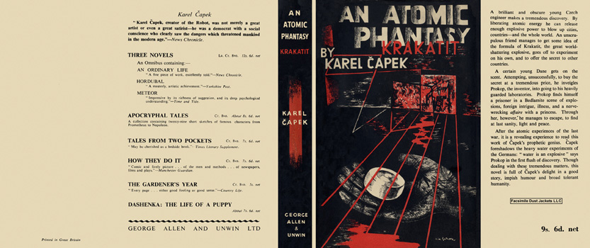 Atomic Phantasy, Krakatit, An. Karel Capek