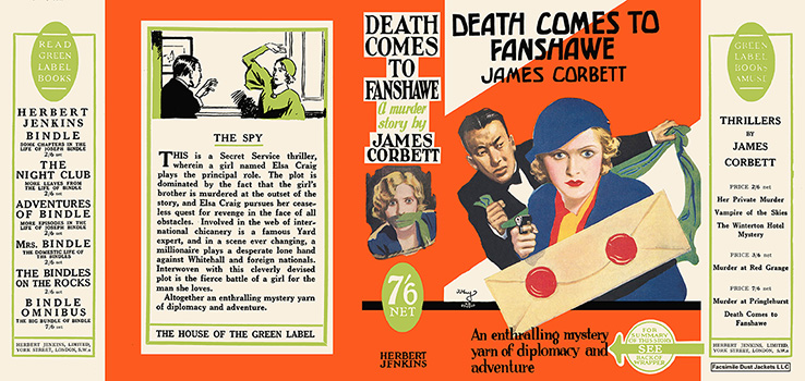 Death Comes to Fanshawe. James Corbett