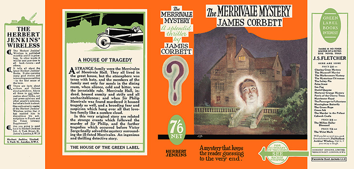 Merrivale Mystery, The. James Corbett