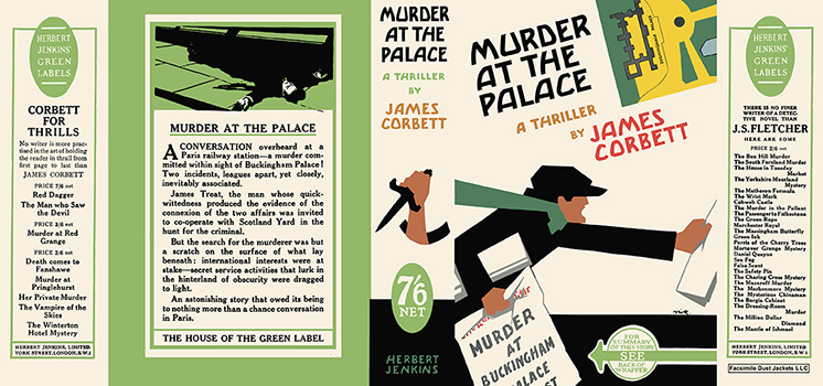 Murder at the Palace. James Corbett