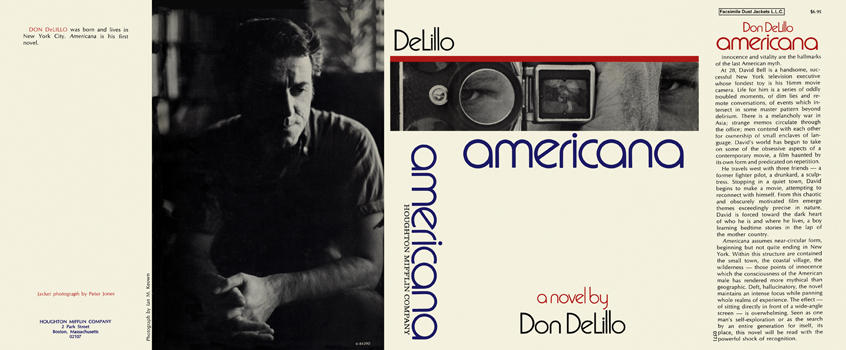 Americana. Don DeLillo.
