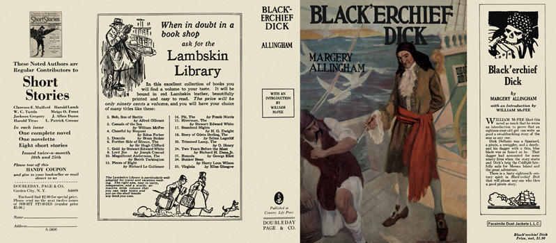 Black'erchief Dick. Margery Allingham