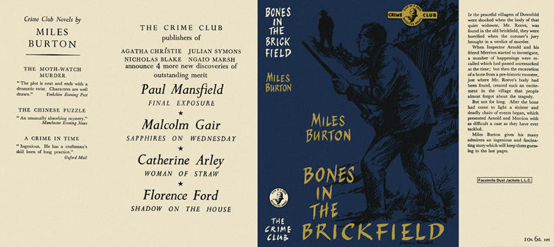 Bones in the Brickfield. Miles Burton.