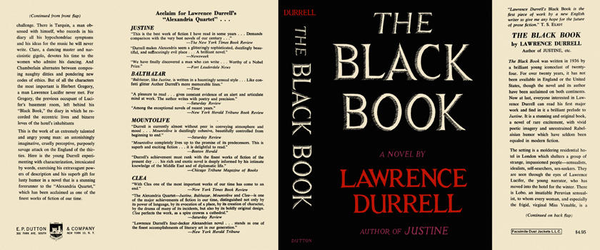 Black Book, The. Lawrence Durrell