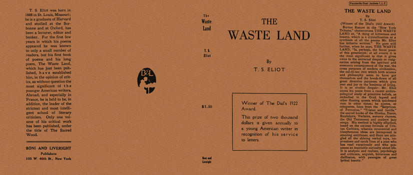 Waste Land, The. T. S. Eliot
