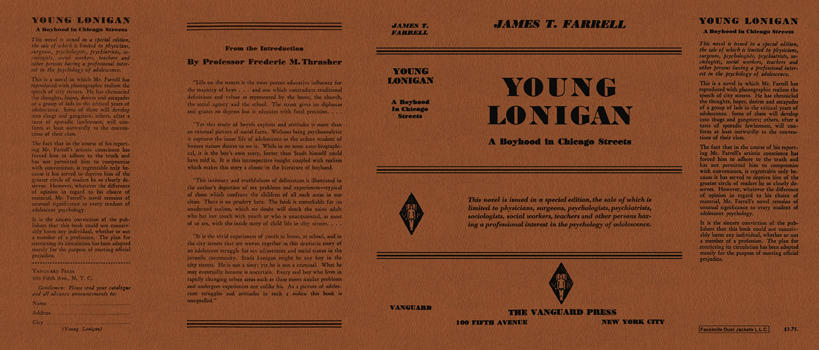 Young Lonigan. James T. Farrell